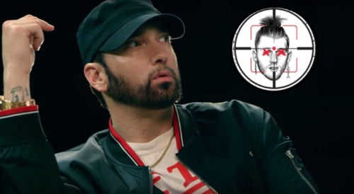 "Eminem-and-Machine-Gun-Kelly-Killshot-Diss-500x274 Eminem's ""Killshot"" Has Biggest Hip Hop Debut In YouTube History!"