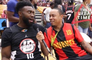 Jaylen Brown Talks The NBA Supporting the WNBA, Celtics Championship Chances & New NBA Sneaker Rules (Video)