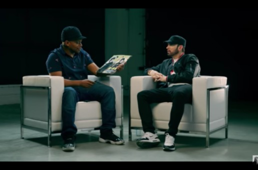 Sway Interviews Eminem (Video)