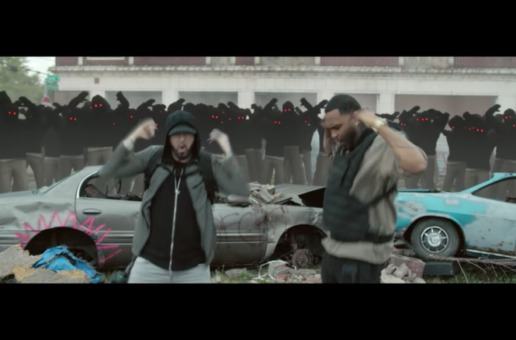 Eminem – Lucky You Ft. Joyner Lucas (Video)