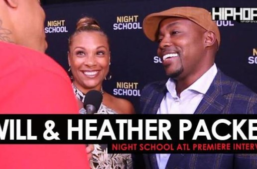 "Will & Heather Packer Talk ""Night School"", Working with Kevin Hart, Their Favorite High School Moments & More"