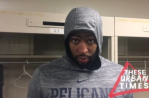 Anthony Davis Talks Julius Randle, the Nike Air Force Max, 'Tha Carter V' & More (Video)