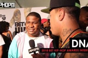 DNA Talks the BET Hip-Hop Cyphers, New Music & More at the 2018 BET Hip-Hop Awards Sprite Green Carpet (Video)