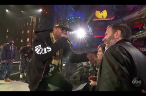 "Wu-Tang Clan Perform ""Proteck Ya Neck"" x ""C.R.E.A.M."" on Jimmy Kimmel Live! (Video)"