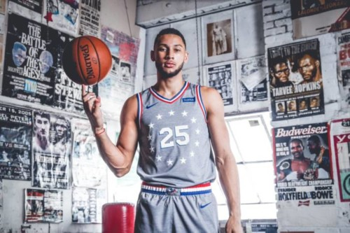 "ben-rocky-500x333 ADRIAN: The Philadelphia Sixers Have Unveiled Their New City Edition Uniforms Inspired by ""Rocky"" & Creed"" Films"