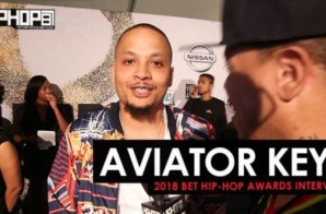 "Aviator Keyz Talks 'Heartbreak City"", New Music, Lil Wayne & More at the 2018 BET Hip-Hop Awards Sprite Green Carpet (Video)"
