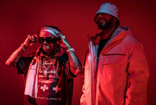 "lil-wayne-swizz-beatz-uproar-500x338 Lil Wayne Shoots ""Uproar"" Music Video in New York City (Video)"