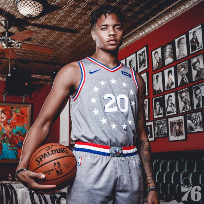 the best attitude c79f0 391ae ADRIAN: The Philadelphia Sixers Have Unveiled Their New City ...