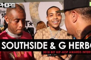 Southside & G Herbo Talk New Music, Lil Wayne & More at the 2018 BET Hip-Hop Awards Sprite Green Carpet (Video)