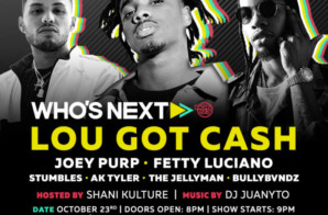 Hot 97's Who's Next w/ Joey Purp, Fetty Luciano, Lou Got Cash, & More!