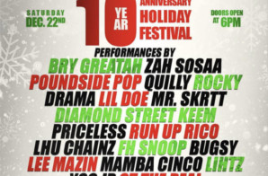 HipHopSince1987 10 Year Anniversary Holiday Festival Is Coming To The TLA