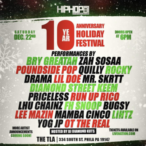 IMG_8362-500x500 HipHopSince1987 10 Year Anniversary Holiday Festival Is Coming To The TLA