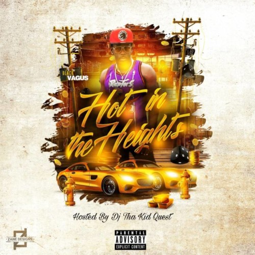 front--500x500 Black Vagus - Hot In The Heights (Tracklist & Artwork)