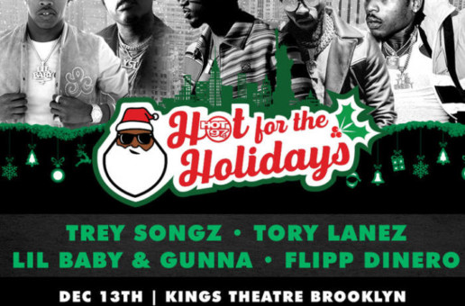 Hot 97's Hot For The Holidays Is Coming To Brooklyn!