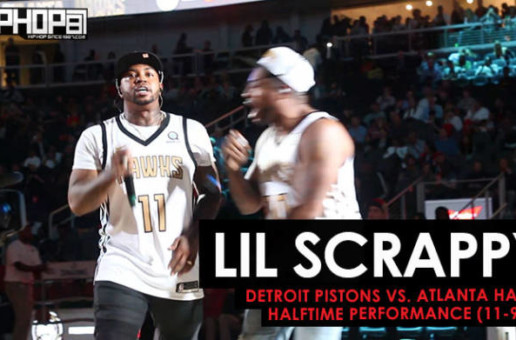 "Lil Scrappy Performs ""No Problem"" & ""F.I.L.A"" As the Atlanta Hawks Debuted Their 2018 NBA City Jerseys (Video)"