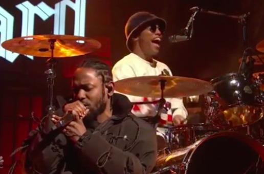 Anderson .Paak Makes SNL Debut Alongside Kendrick Lamar (Video)
