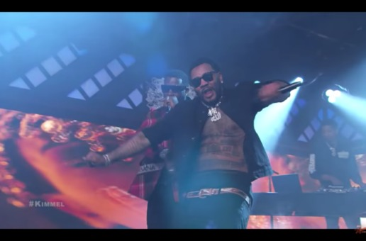 "Gucci Mane & Kevin Gates Perform ""I'm Not Goin"" On Jimmy Kimmel Live! (Video)"