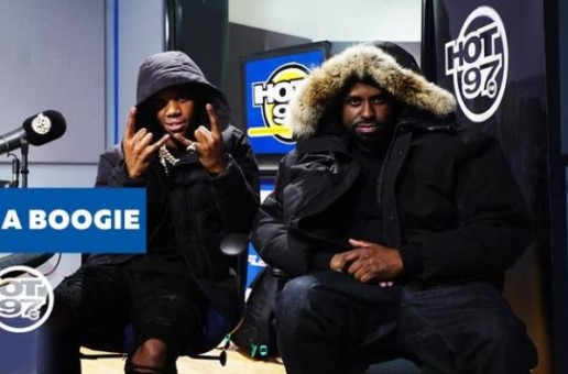 Watch A Boogie's Funk Flex Freestyle on Hot 97 (Video)