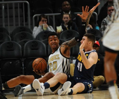 john-collins-hawks-500x416 Mile High Lows: John Collins Led The Atlanta Hawks Pass The Denver Nuggets Saturday Night