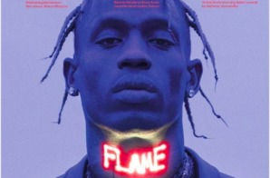 Travis Scott Covers Latest Issue of 'L'Uomo Vogue' Magazine