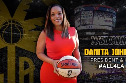 The Los Angeles Sparks Have Hired Danita Johnson as Their New President and COO