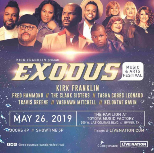 unnamed-6-500x498 Live Nation Urban Partners With Kirk Franklin For 2nd Annual Exodus Music & Arts Festival!