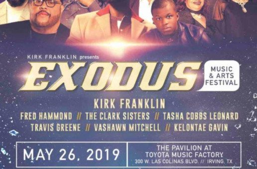 Live Nation Urban Partners With Kirk Franklin For 2nd Annual Exodus Music & Arts Festival!