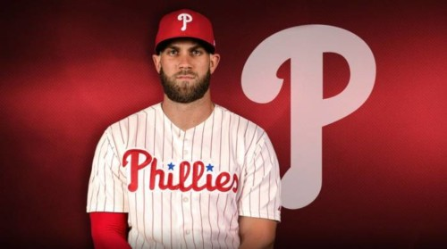 Bryce-Harper-Phils-2-500x279 Mo' Money: The Philadelphia Phillies Have Signed Bryce Harper To a 13yr/ $330 Million Dollar Deal