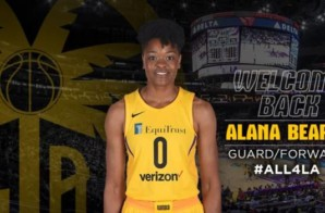 California Love: The Los Angeles Sparks Have Re-Signed Alana Beard