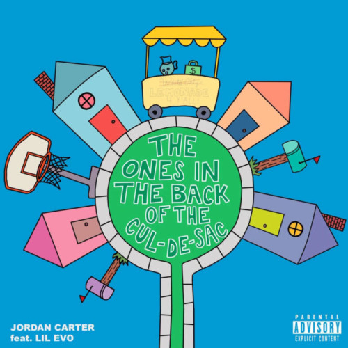 jordancarterlilevo-500x500 Jordan Carter - The Ones In The Back Of The Cul-de-Sac Ft. Lil Evo