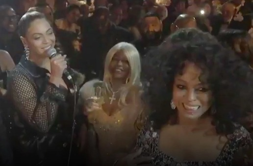 Beyonce Sings Happy Birthday To Diana Ross At 75th Birthday (Video)