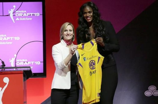 The Los Angeles Sparks Draft Kalani Brown with Seventh Pick in 2019 WNBA Draft
