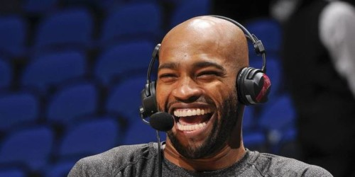Vince-Carter-Hawks--500x250 Atlanta Hawks Star Vince Carter to Join FOX Sports Southeast's Broadcast Team for Hawks vs. 76ers