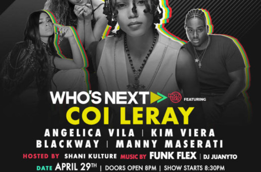 Hot 97 Presents Who's Next at SOB's w/ Coi Leray, Angelica Vila, & More!