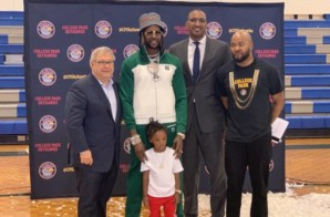 2 Chainz Announces He Has Joined The Ownership Group of the College Park Skyhawks (Video)