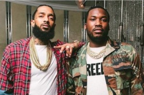 Meek Mill Pays Tribute to Nipsey Hussle With Custom Diamond Chain