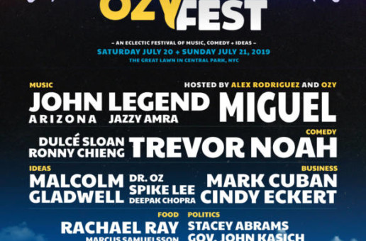 John Legend, Miguel, Spike Lee, Trevor Noah & More in NYC For Ozy Fest!