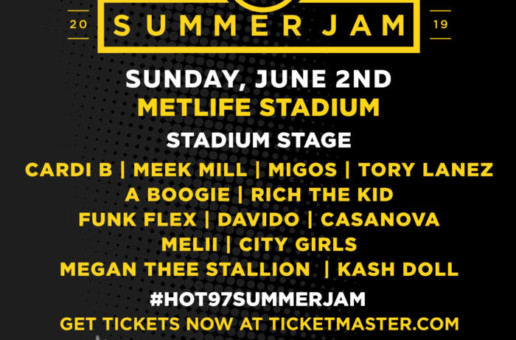 Hot 97's Summer Jam is One Month Away!
