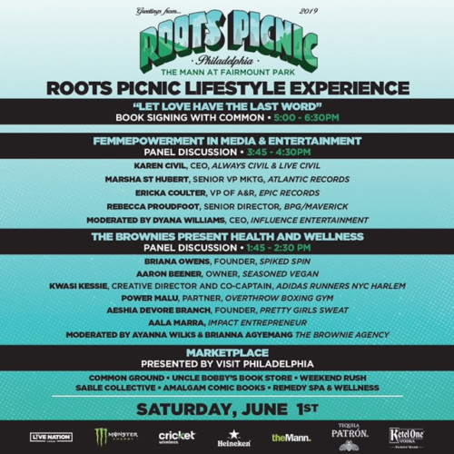 unnamed-5-1-500x500 The Roots Picnic Announces Lifestyle Tent w/ Common, Health & Wellness Panels & More!