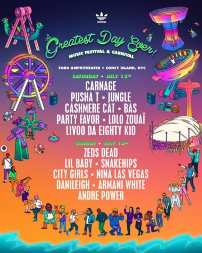 GDE-2019-WEBSITE-4X5-400x500 Pusha T, Lil Baby, City Girls, DaniLeigh & More to Headline The Greatest Day Ever's 2-Day Festival in Brooklyn