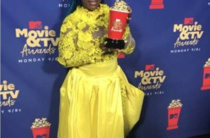 Dancehall Queen, Spice, Wins an MTV Movie Award!