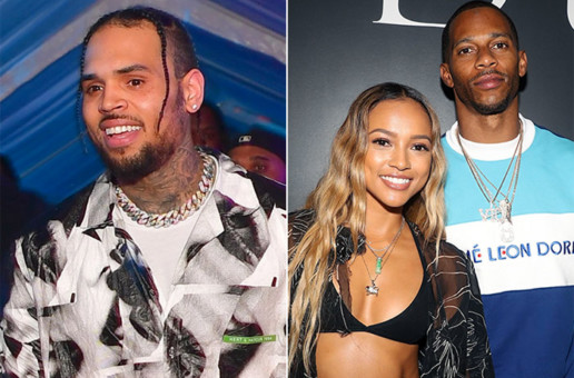 Chris Brown Throws Shade at Karrueche's Boyfriend Victor Cruz!