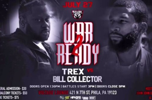 T-REX VS BILL COLLECTOR #WarReady2 TRAILER 7/27