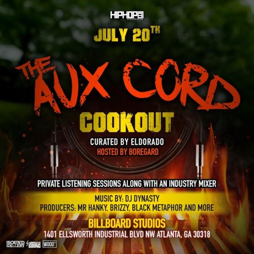 Aux-Cord-500x500 HipHopSince1987 Presents: The AUX Cord Cookout (Curated by Terrell Thomas) (July 20th in Atlanta)