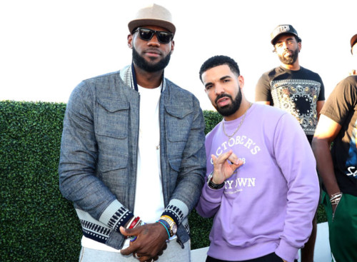 "lebron-james-drake-500x367 Drake Partners With Lebron James to Launch ""Uninterrupted"" in Canada!"