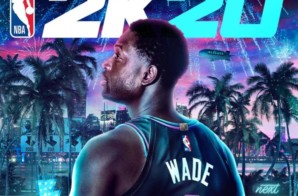 Lakers Star Anthony Davis & NBA Legend Dwyane Wade Cover #NBA2K20
