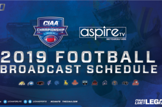 CIAA & Aspire TV Announce Their Joint 2019 Football Broadcast Schedule