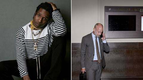 A$AP Rocky's Swedish Lawyer Shot in the Head!