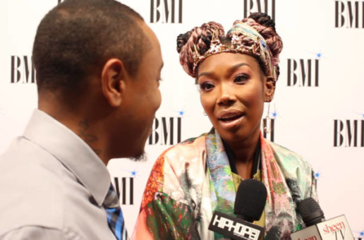 Brandy Talks Having Longevity in Her Career & When She Realized All The Hard Work Was Worth It at the 2019 BMI/Hip-Hop Awards (Video)