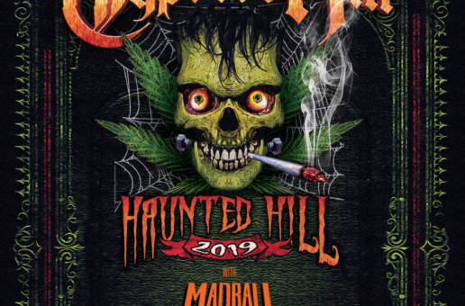 "Cypress Hill ""Haunted Hill"" LIVE at Franklin Music Hall in Philly on Oct. 26th!"
